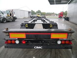 photo of Used Semi-trailer CIMC Liftachse Ausziehbar Extending-Multifunctional-Chassis SC 03 Axels 2016