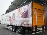 photo of Used Semi-trailer Draco Lenkachse Ladebordwand Hartholz-Bodem TXA230 2 Axels 2002