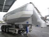 photo of Used Semi-trailer Feldbinder 34.000 Ltr. / 1 / 2x Liftachse Teut 34.3 3 Axels 2006