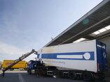 photo of Used Semi-trailer GS Meppel 76m3 / 3 / 2x Lenkachse OTIK-180-3000 Axels 2003