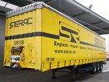 photo of Used Semi-trailer Krone Bordwande SD Axels 2010