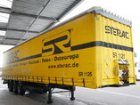 photo of Used Semi-trailer Krone Bordwande SD Axels 2011