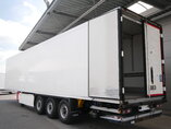 photo of Used Semi-trailer Krone Doppelstock Palettenkasten Ladebordwand SD Axels 2012