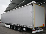 photo of Used Semi-trailer Krone Mega Hubdach Palettenkasten SD Axels 2014