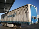 photo of Used Semi-trailer Leci trailer Palettenkasten hartholzboden Anti-Vandalimus-Plane P3S Axels 2007