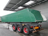photo of Used Semi-trailer Meiller 33m3 Liftachse Alukipper TR3 Axels 2008