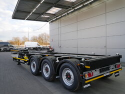 photo of New Semi-trailer KOGEL Port-MAXX 40 Simplex SWCT Axels