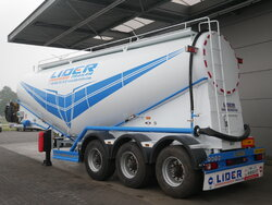 photo of New Semi-trailer Lider 39m3 Cement Silo Axels