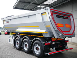 photo of New Semi-trailer Ozsan 24m3 2x Liftachse SAF WABCO Axels