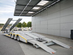 photo of New Semi-trailer Ozsan Trucktransport SAF-achsen Ausziehbar WABCO OZS-KT3 Axels