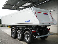 photo of New Semi-trailer Schmitz 24m3 Liftachse Alukipper SGF*S3 Axels