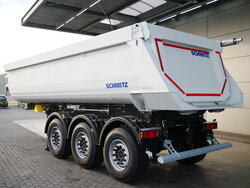 photo of New Semi-trailer Schmitz NEW! 24m3 Stahl Liftachse SGF*S3 Axels