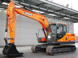 photo of Used Construction equipment Doosan DX140LC Track 2018