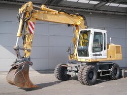 photo of Used Construction equipment Liebherr A316 4X4 1998