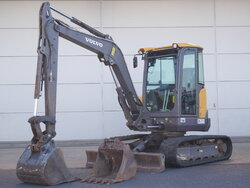 photo of Used Construction equipment Volvo ECR 50 D Track 2015
