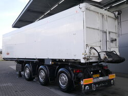 photo of Used Semi-trailer Bulthuis 50m3 Lift+2x Lenkachse TSTA 27 3 Axels 2002