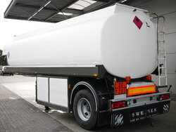 photo of Used Semi-trailer EKW 23.000 Ltr / 5 / ROC-23T1A Axels 1993