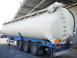photo of Used Semi-trailer Feldbinder 63.000 Ltr / 1 / Kippanlage KIP 63.3 3 Axels 2004