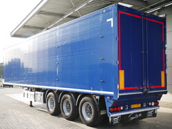 photo of Used Semi-trailer Knapen K200 73m3 Agrar / Rüben / Bieten Liftachse Top Condition! Axels 2012