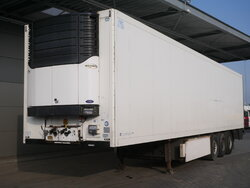 photo of Used Semi-trailer Krone Carrier Liftachse Doppelstock Palettenkasten SD Axels 2008