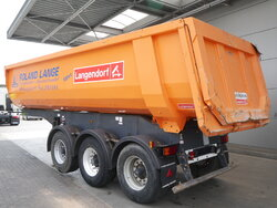 photo of Used Semi-trailer Langendorf 25m3 Stahl Liftachse SKS-HS24/29 Axels 2011