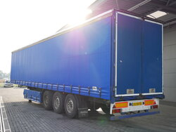 photo of Used Semi-trailer Pacton T3-001 Edscha SAF Top Condition! Axels 2001