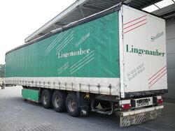 photo of Used Semi-trailer Schmitz Liftachse Palettenkasten S01 Axels 2007