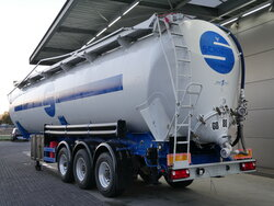 photo of Used Semi-trailer Spitzer S2460K 60.000 Ltr Kippsilo BPW Achsen Axels 1998
