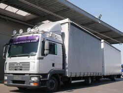 photo of Used Truck + Trailer MAN TGL 8.240 LX 4X2 2009