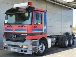 photo of Used Truck Mercedes Actros 2635 6X4 1999