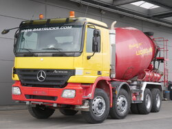 photo of Used Truck Mercedes Actros 3241 8X4 2007