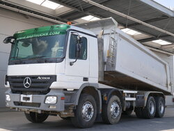 photo of Used Truck Mercedes Actros 4141 K 8X4 2009