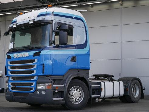 Foto van Gebruikt Trekker Scania R400 4X2 2011