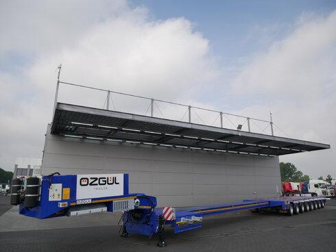 photo of New Semi-trailer OZGUL Ausziebar Bis 26m65 7x Lenkachse LWS 8 Axels