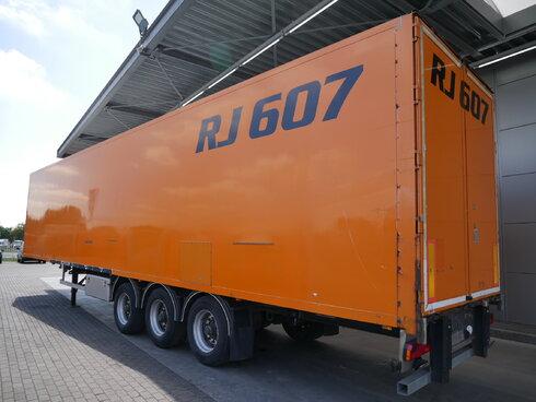 photo of Used Semi-trailer Van Eck Hartholzboden DT-3I Axels 2001