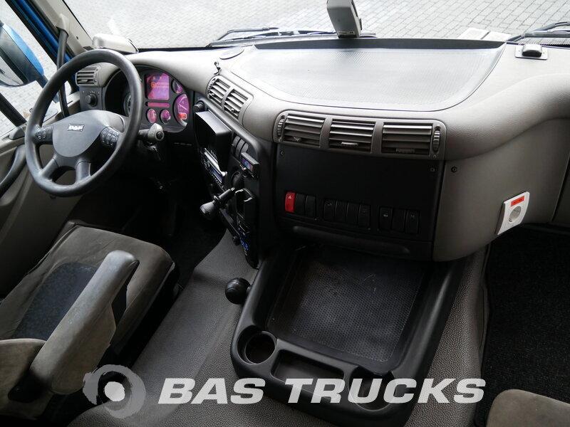 Foto van Gebruikt Bakwagen + Aanhangwagen DAF CF75.310 4X2 2007