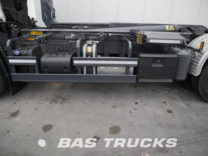 Foto van Gebruikt Bakwagen DAF FAN CF 400 DC BTS PCC - Meiller Abrollkipper RS 21.70 6X2 2018