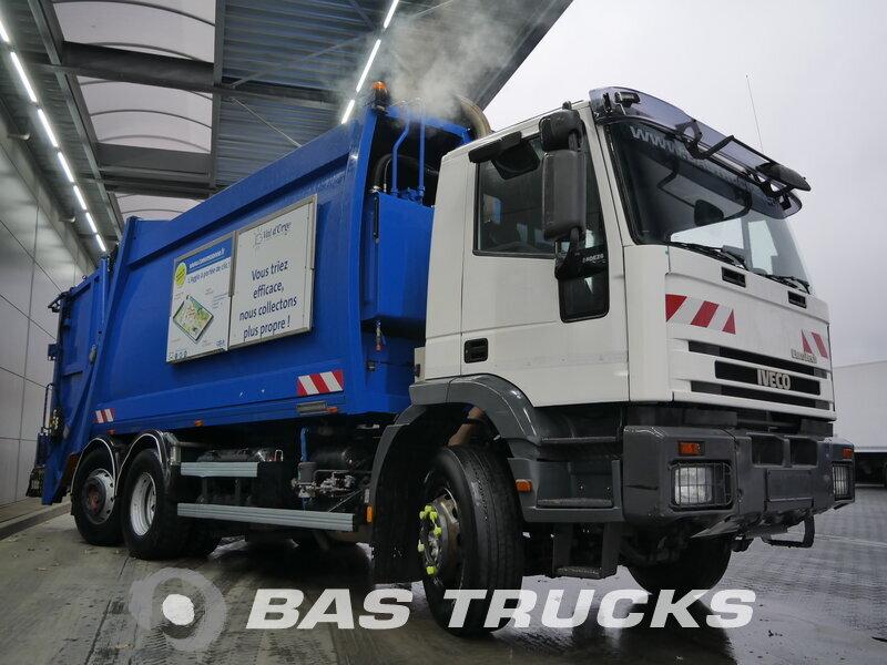 Foto van Gebruikt Bakwagen IVECO Eurotech 240E26/PS CNG 6X2 2003
