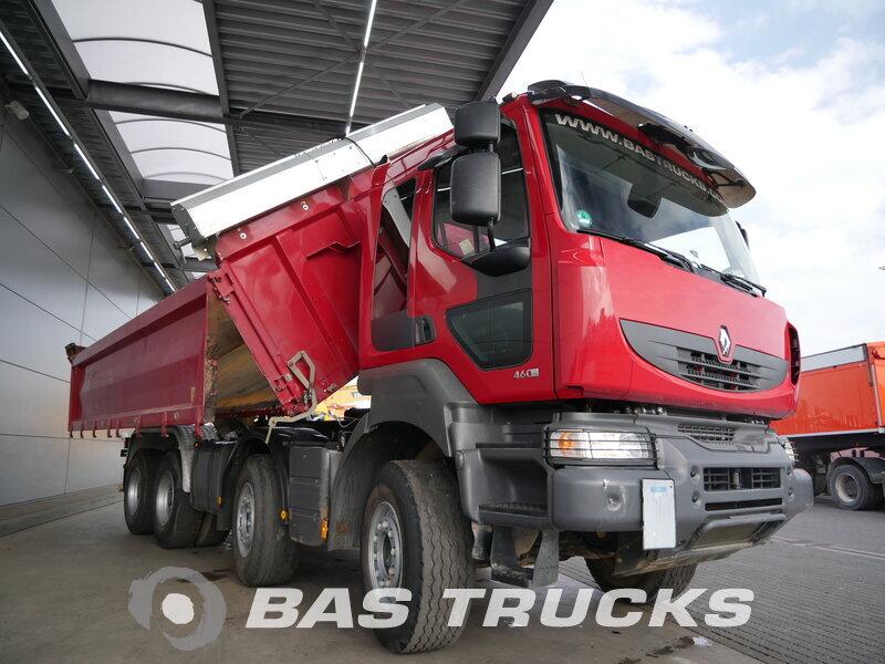 Foto van Gebruikt Bakwagen Renault Kerax 460 8X4 2011