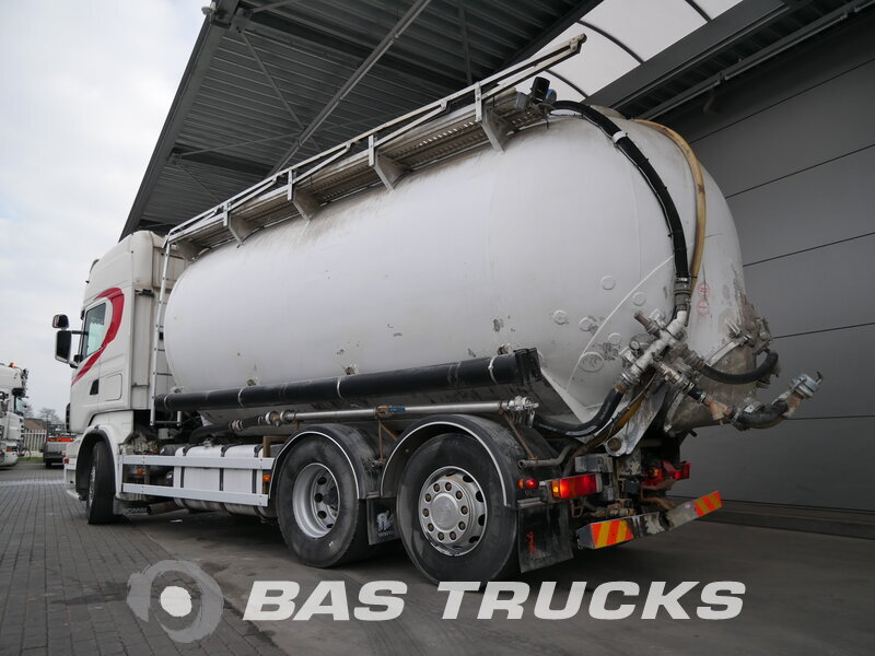 Foto van Gebruikt Bakwagen Scania R500 6X2 2005