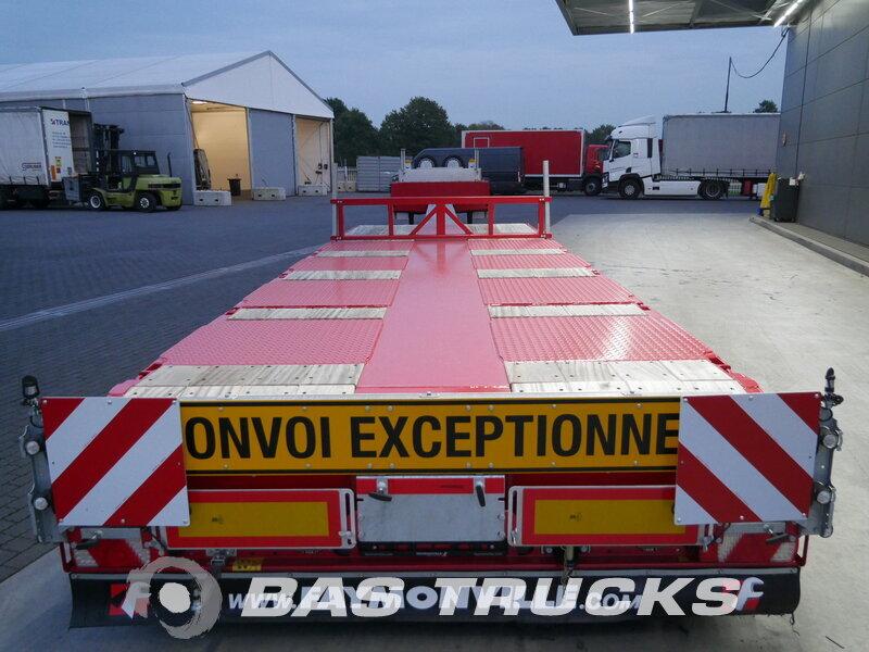 photo of New Semi-trailer Faymonville Ausziehbar Bis: 20m 4x Lenkachse F-S44-1BBY Axels