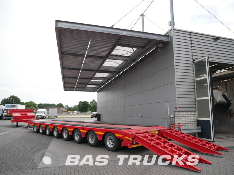 photo of New Semi-trailer GURLESENYIL  Ausziebar Bis 23m80 5x Lenkachse GLY8 8 Axels