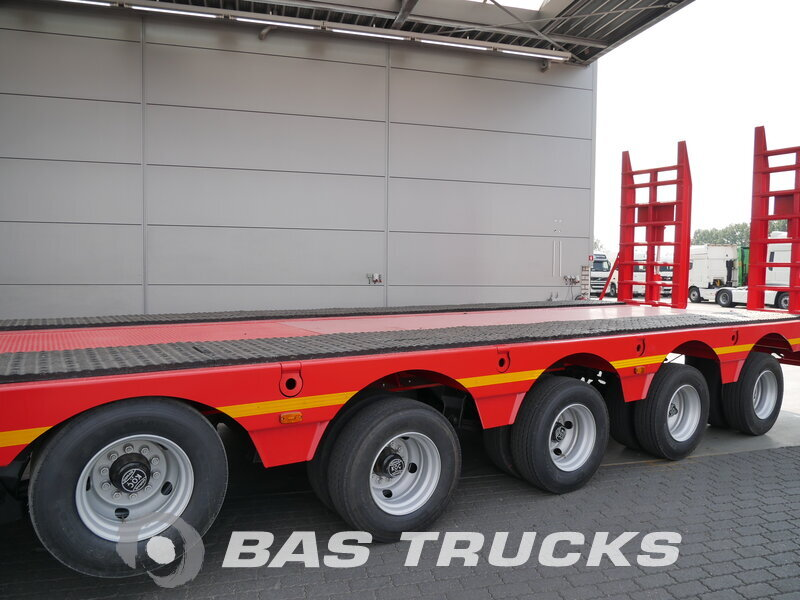 photo of New Semi-trailer GURLESENYIL Liftachse 2x Lenkachse Hydro-Rampen GLY5 5 Axels