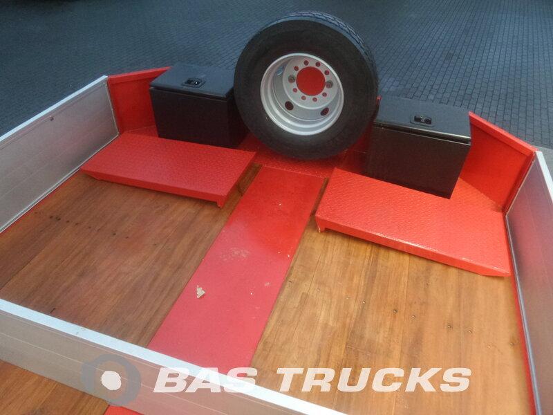 photo of New Semi-trailer Invepe Ausziehbar bis 18m85 Hydr-Rampen Lenkachse REX-131 3 Axels