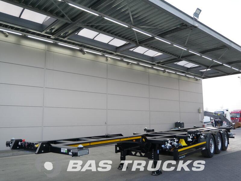 photo of New Semi-trailer KOGEL Port-MAXX 40 Simplex SWCT Axels