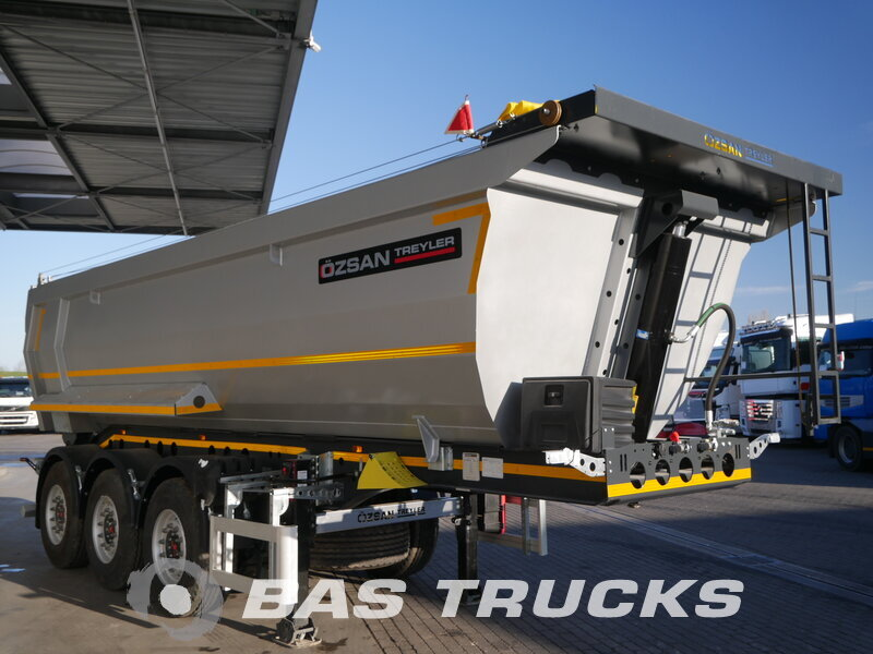 photo of New Semi-trailer Ozsan 24m3 2x Liftachse SAF Achsen WABCO Axels
