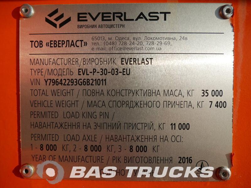 Foto van Nieuw Oplegger Everlast NEW UNUSED! 30.000 Ltr. / 1 / Liftachse ADR EVL-P-30-03-EU 3 Assen