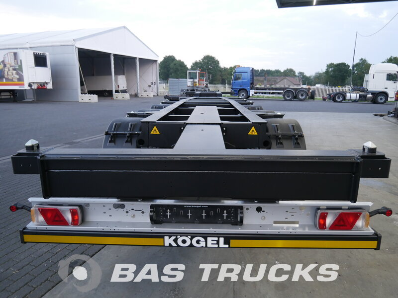 photo de Nouveau Semi-remorques KOGEL Extending Multifunctional Chassis S24-2 Essieux