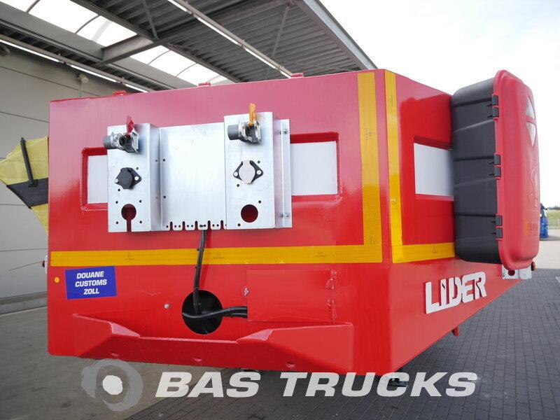 photo de Nouveau Semi-remorques LIDER LD07 Hydro-Rampen Steelsuspension 3 Essieux