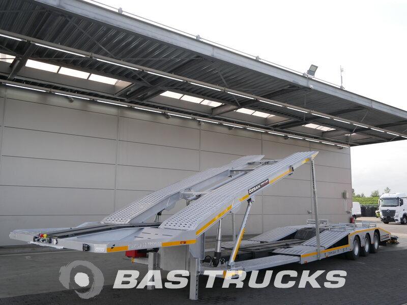 photo de Nouveau Semi-remorques OZSAN NL-registration Lenkachse Ausziebar 3 Essieux